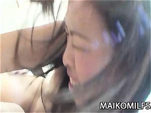 Tomomi Kitano - weenie enjoying JAV milf humping