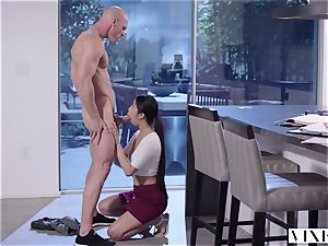 smallish school babe learns about fat hard-ons with her neighbor