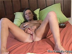 Filming Summer tugging Her humid cootchie cumming rock hard