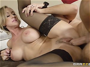 The husband of Brandi enjoy lets her fuck a different stud