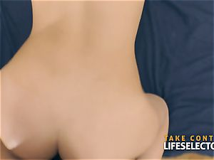 audition with stunning Hungarian dolls pov