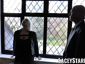 LACEYSTARR - Mature English stunner plumbed and facialized