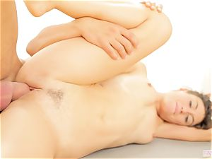 Yoga lesson gets super-fucking-hot for Julia Roca
