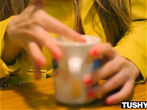 TUSHYRAW Lena Paul thirsts pure and rock-hard assfuck intercourse