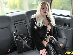 fake taxi pornographic star makes debut in london taxi