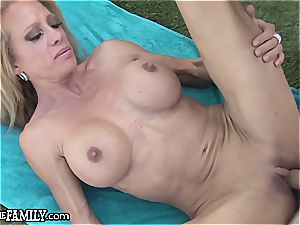 perverted step mommy ravishes her sons erect man sausage