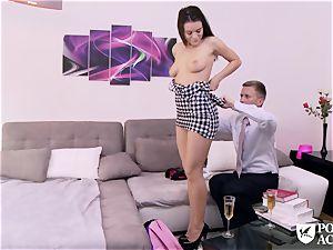 pornography ACADEMIE - american Lana Rhoades nails principal