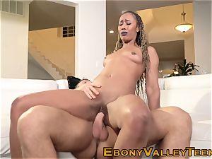 ebony fucksluts face sopping