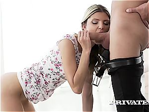 Gina Gerson jaw-dropping Lolita gets assfuck