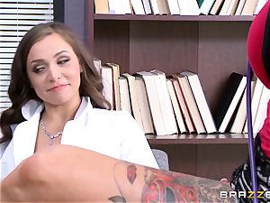 Tiffany star seduced by tattooed doctor Anna Bell Peaks
