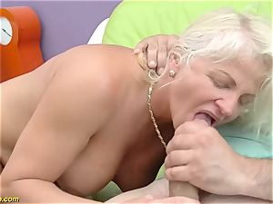 sumptuous 73 years senior mom first huge pecker ass-fuck ravage