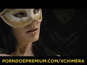 XCHIMERA - Office stunner practices voluptuous wish tear up