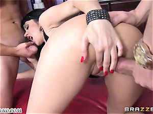 drunk milf Eva Karera with ginormous titties indulges on the party