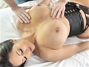 ginormous bootie big-titted mummy Ava Addams gets her oiled vagina screwed