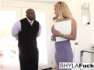 Shyla Takes A fat boner