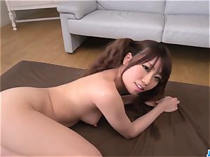 Chisa Hoshino gives head in point of view then nails rock-hard - More at JavHD.net