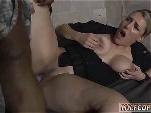 hefty knocker mummy entices youthful fake Soldier Gets Used as a fuck toy