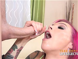 Anna Bell Peaks' largest devotee two