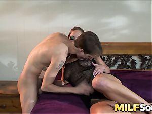 sticking milf Gabriella Banks in the butt