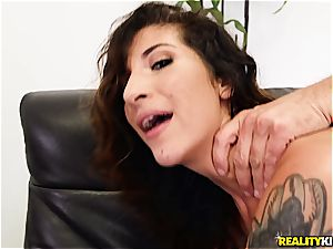 Mia Faith humped in the audition job