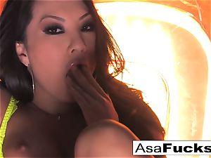 Asa Akira showcases Off Her astounding bod