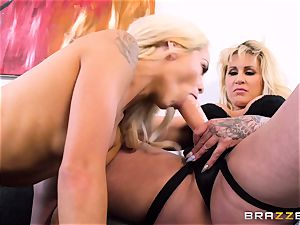 milf and nubile Elsa Jean with Ryan Connor