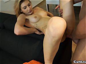 super-naughty Claudia Shotz getting a fine stiff banging