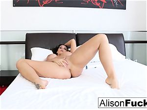 Alison Tyler taunts with her magic wand