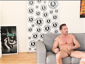 revealed casting - hot romp at casting with Czech honey