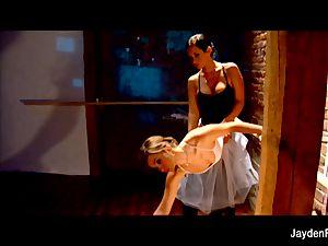 stunning ballet lessons w Jayden Jaymes