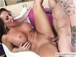 torrid mature woman Richelle Ryan seduces her crazy stepson