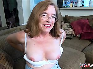 USAwives grandmothers loving adult toys compilation