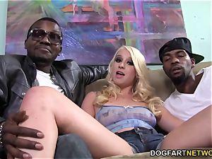 Kristen Jordan big black cock double penetration