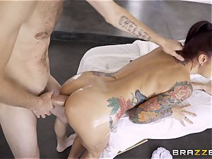 Monique Alexander secretly taking the ginormous monster shaft of Danny D in the ass