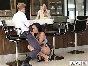 LoveHerFeet - Sneaky hotwife sole fuckfest With The Realtor