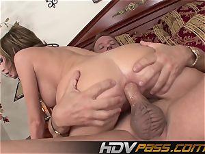 HDVPass Hillary Scott's freshly penetrated fanny