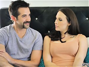 Spizoo - see Chanel Preston deepthroating and ravaging