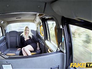fake taxi blondie mummy Victoria Summers boned in a cab