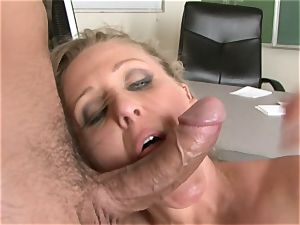 Julia Ann is a hard-core milf who wants to put her cooter on a rock-hard manhood