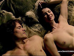 Caitriona Balfe in steaming orgy scene from Outlander