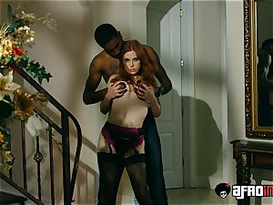 audition ALLA ITALIANA redhead screwed by a black penis