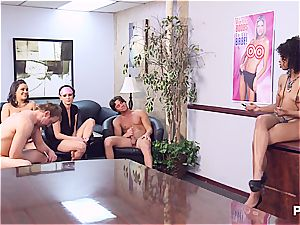 Getting horny in the office part 5