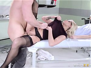 red-hot doctor Jessa Rhodes checks out this large bone