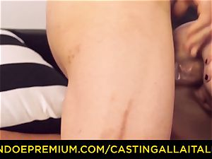 CASTNG ALLA ITALIANA - blondie vixen raunchy double penetration hookup