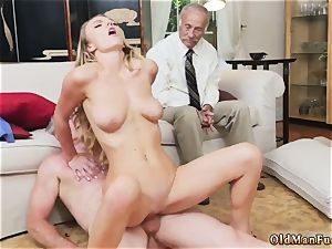 fat titty platinum-blonde british nubile and job cum shot compilation Molly Earns Her Keep