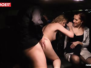 LETSDOEIT - secretary Hooks boss nymph With fuckfest In cab