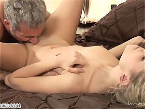 dad plumbs his youthfull stepdaughter Nicole Ray
