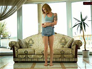 super-hot teenage Alexa confims chastity